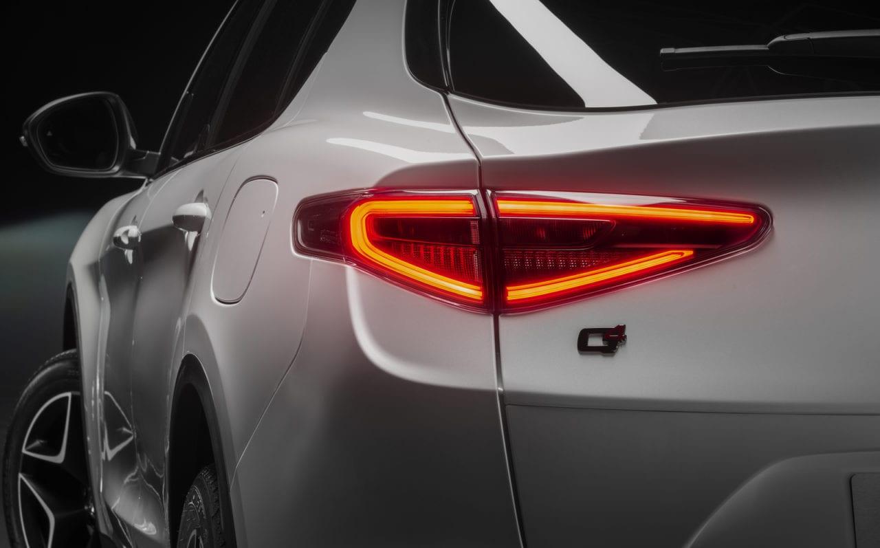 Alfa Romeo - Stelvio - TI - Rear light detail - Digital quality