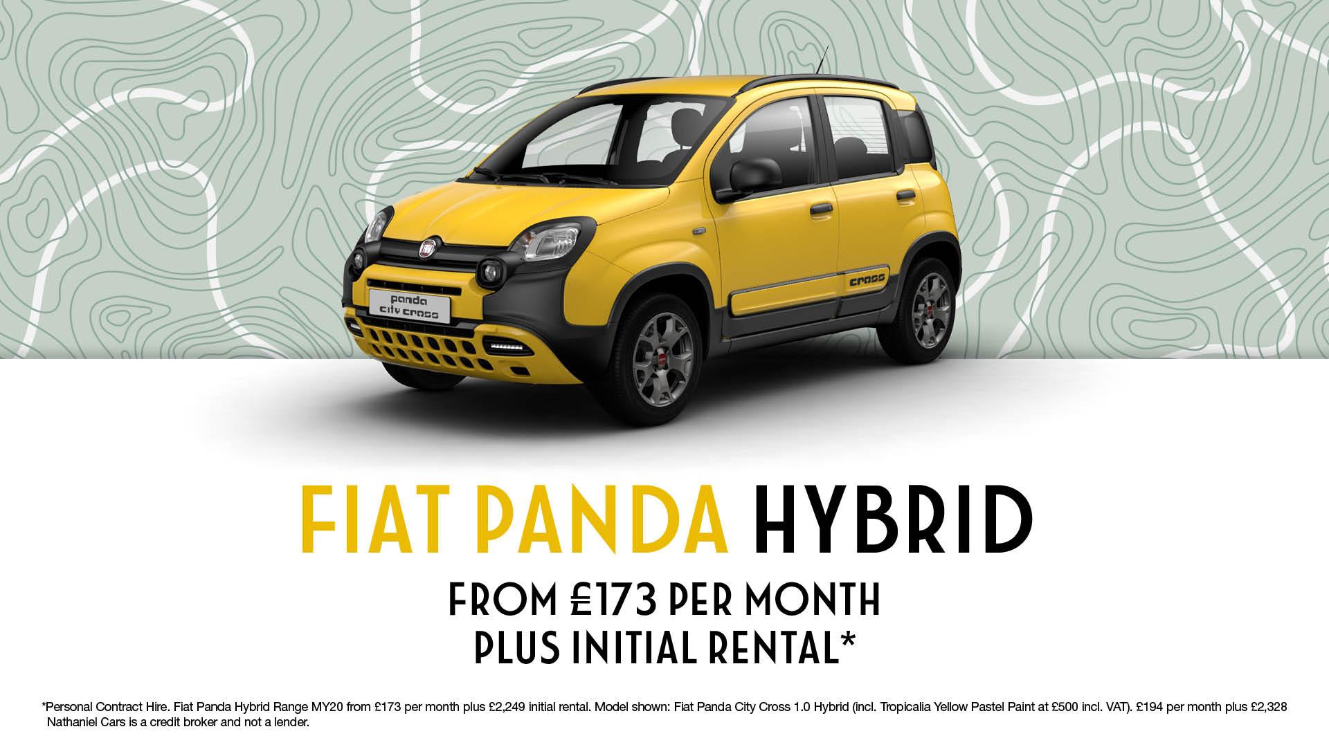 Q4 Fiat Panda City Cross - Website Banner - 1920 x 1080