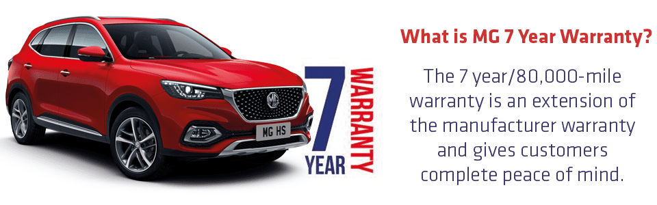 MG 7 Year Waranty