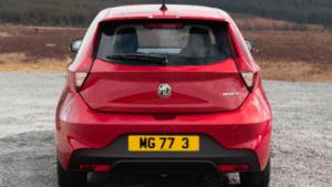 MG3 Rear Parking Sensors