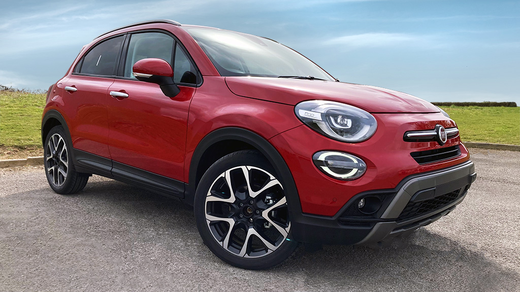 Fiat500X PassioneRED Delivey mileage special offer