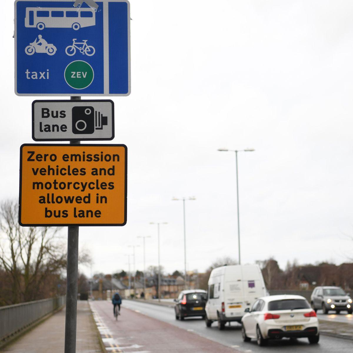 ZEV Bus lane