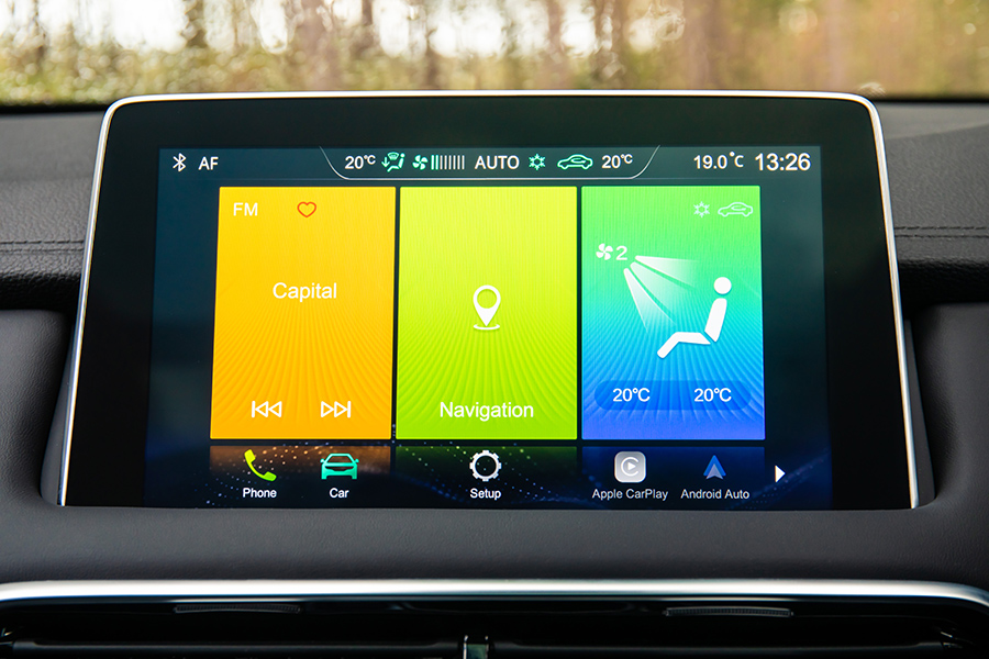 HS Touchscreen Nav system